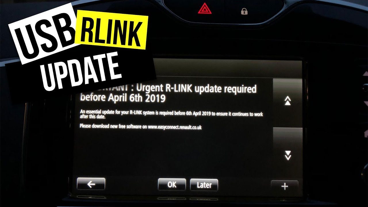 How to update your R Link using USB