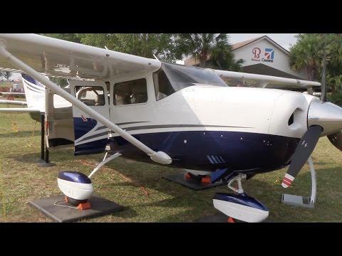 Cessna Turbo Stationair HD At Sun N Fun 2017