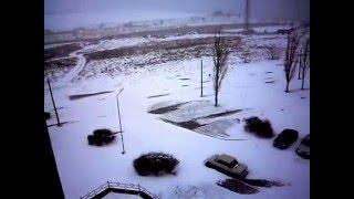 Снегопад Одесская область г.Южный на 15.00 17.01.2016(, 2016-01-17T13:18:23.000Z)