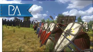 MASSIVE SIEGE EVENT - Mount and Blade: Warband Gameplay