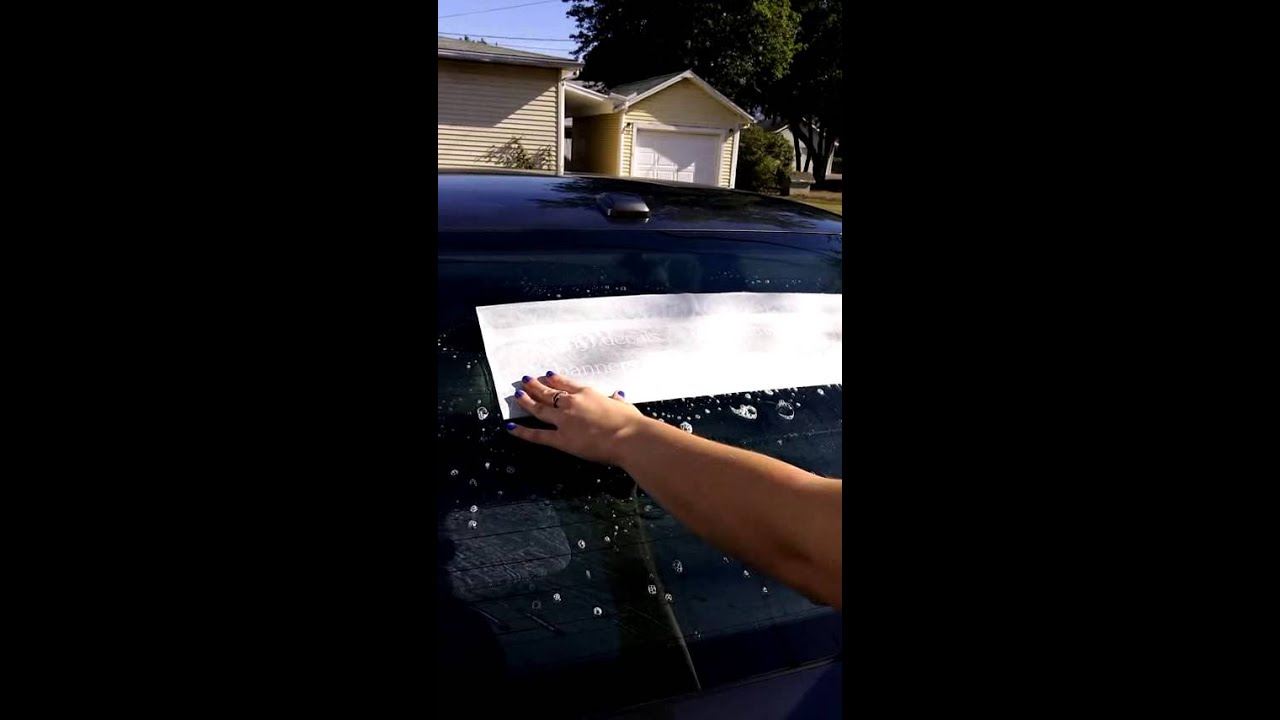 How To Apply Vinyl Decals Using The Wet Application Method YouTube - Custom vinyl decal application solution