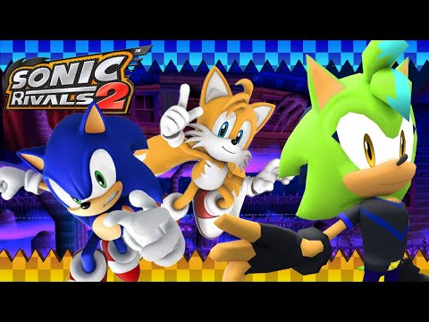 Mind Control Ghosts Sonic Rivals 2 Part 3 Sonic Tails Story Youtube