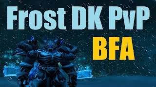 8.0.1 Frost DK PvP - Jalapeno on Death - Top Damage or Eat Them ALL