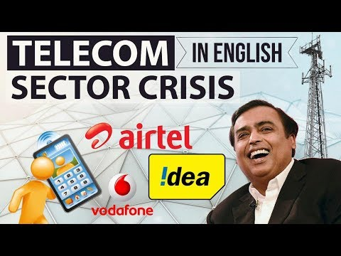 Telecom Sector Crisis in India - Will companies survive? Who