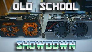 hd7850 vs gtx 660ti old school showdown part 1