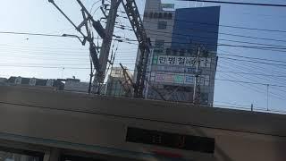 서울교통공사 (구 서울메트로) 4호선 463편성 진입영…