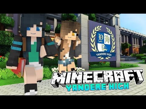 Yandere High School - FUNNEH'S FIRST DAY! [S2: Ep.1 Minecraft Roleplay]