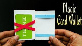 Magic Card Wallet - DIY Tutorial by Paper Folds ❤️