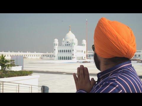 """Focus - Le """"corridor de Kartarpur"""" pour les pèlerins sikhs, rare trait d'union entre l'Inde et le Pakistan"""