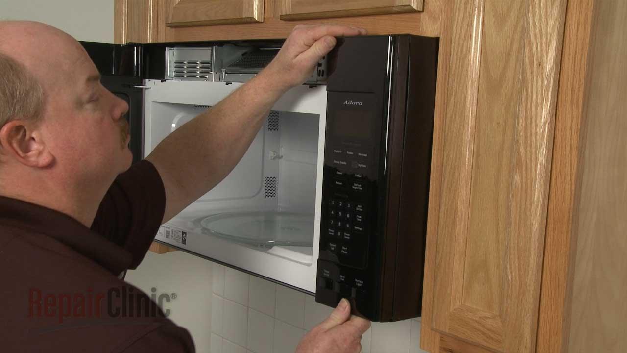 GE Microwave Control Panel Replacement, Repair #WB56X20761