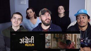 Angrezi Medium - Official Trailer REACTION!   Irrfan Kareena Radhika   Dinesh Vijan   Homi Adajania