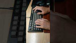 "лё""лћ™нЋ"" diy typing videoCOX BlackPerl D Y"
