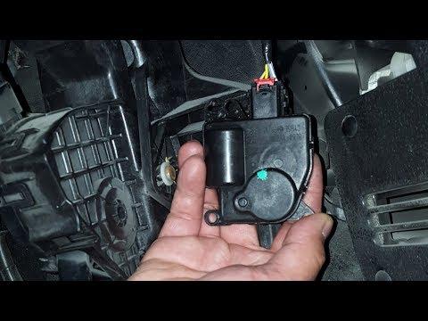 2010 Ford F-150 Lariat:  Replacing The HVAC Mode Door Actuator