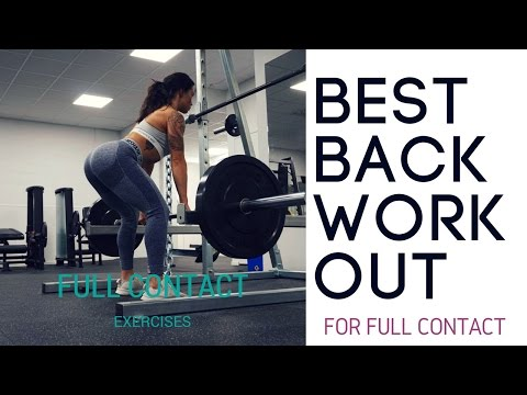 8 BACK EXERCISES YOU SHOULD DO  - FULL BACK WORKOUT PROGRAM ♥ Follow me to the gym