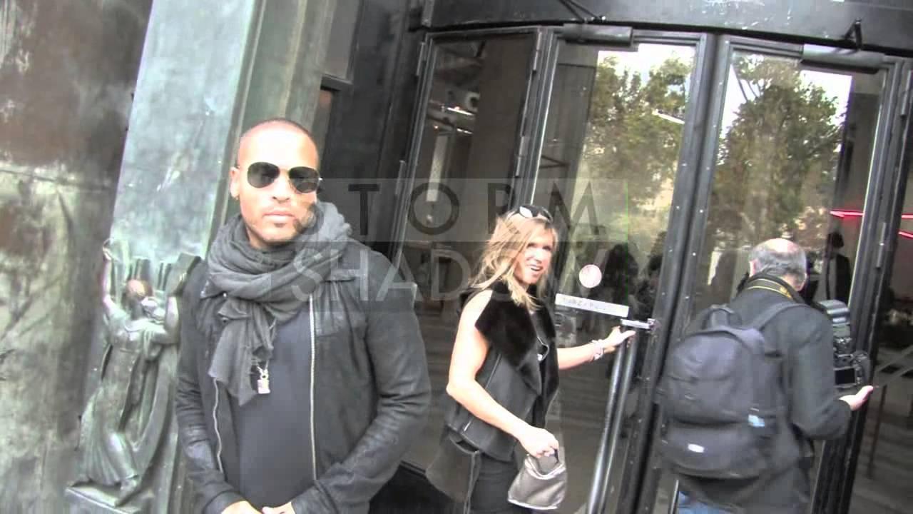 Lenny Kravitz arrives for Rick Owens fashion show in Paris