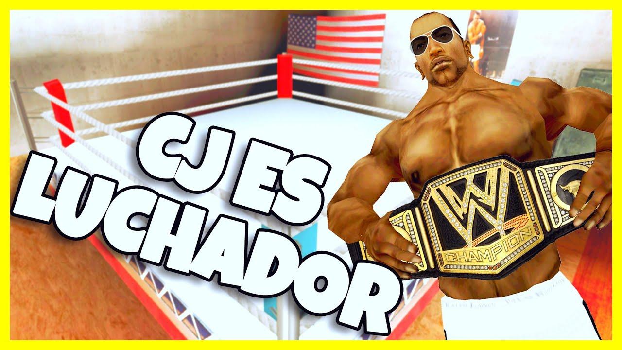 GTA San Andreas Loquendo - CJ es Luchador