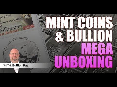 MINTBUILDER | MEGA SILVER UNBOXING | 50 GRADED COINS | SILVER BULLION