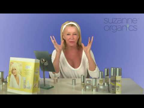 Suzanne Somers Full Skincare Tutorial
