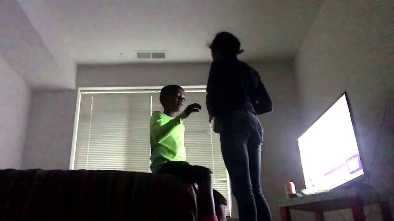 My sister beat me suck