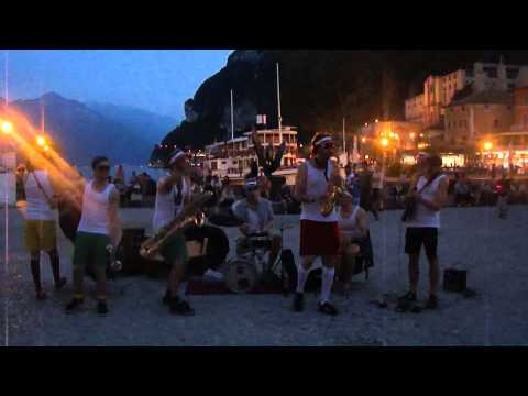 "Diazpora  play in Riva del Garda as part of their ""Pasta Blasta"" Tour"
