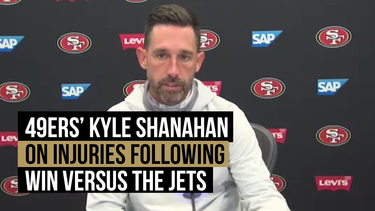 49ers head coach Kyle Shanahan discusses team injuries and Jimmy Garoppolo