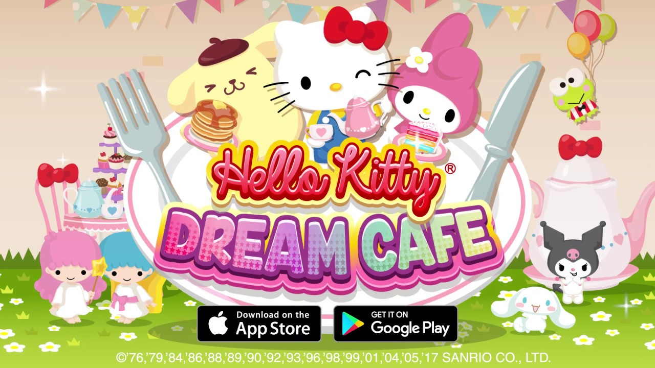 Hello kitty dream cafe official trailer