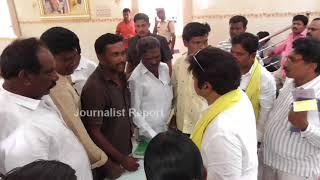 బాలకృష్ణ వద్ద సామాన్యుడి ఆవేదన Nandamuri Balakrishna Meets with Party Workers