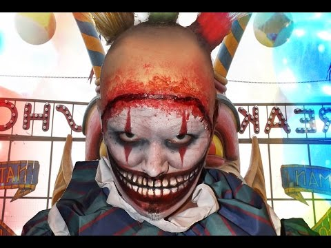 Twisty The Clown - American Horror Story Freak Show - Makeup Tutorial!