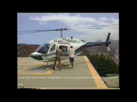 Rio de Janeiro   Cable Car & Helicopter Ride Down From Sugarloaf - Rio de Janeiro,Brazil 2001.03.02