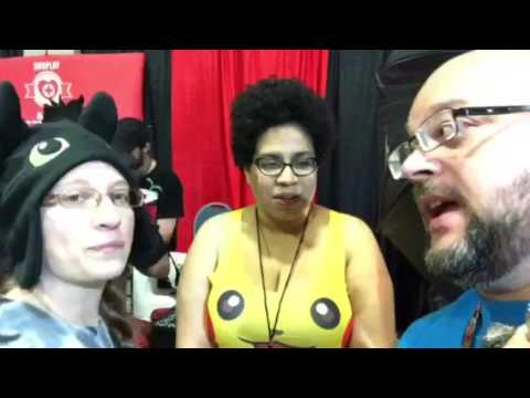 Happily Married Nerds | live from con with cosplay medics