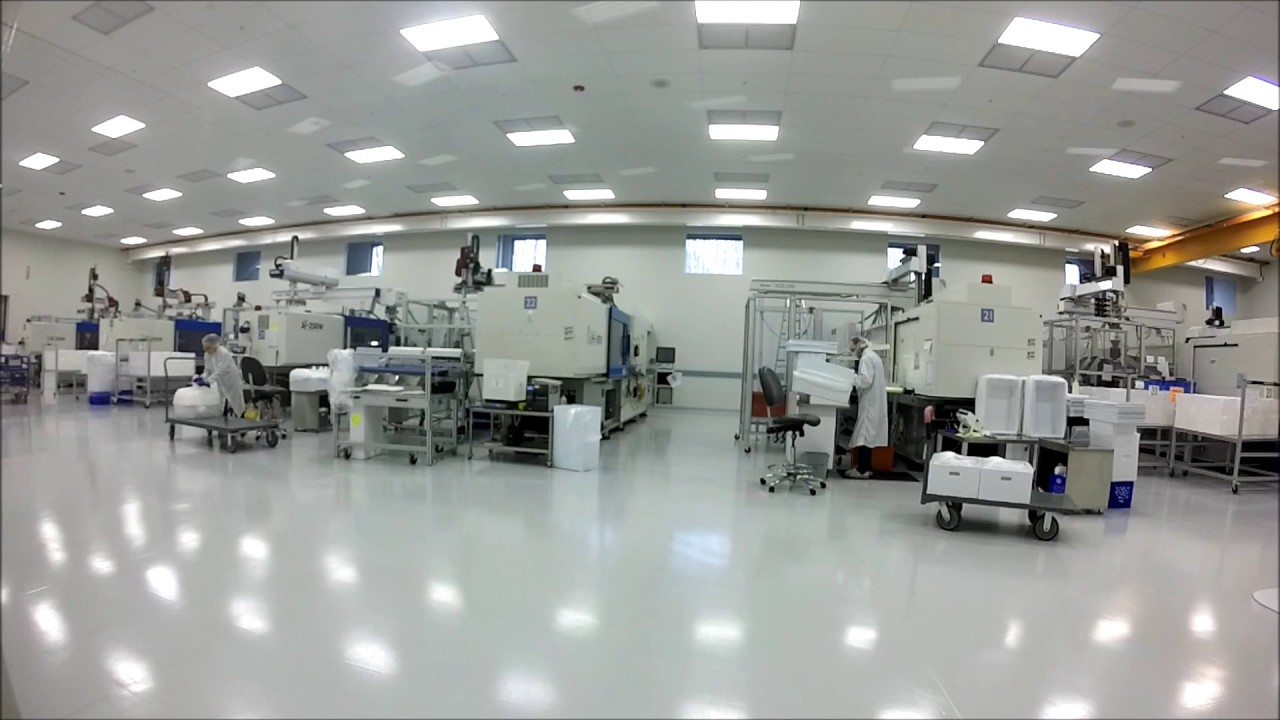 Class 8 Cleanroom Medical Injection Molding