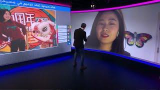 صينية تقلد مشاهير الفنانين الكوميديين العرب.. ما رأيكم؟