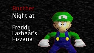 SM64 Bloopers: Another Night at Freddy Fazbear