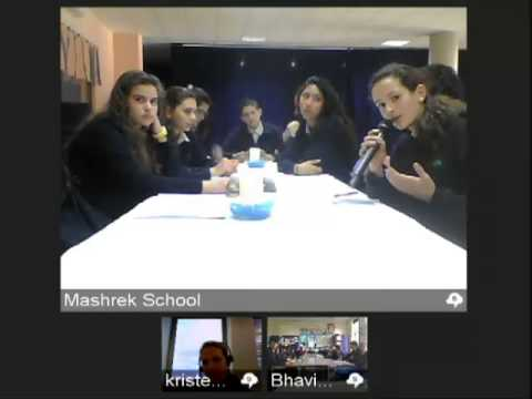 Face to Faith Program - Mashrek International School & William Ellis School  in London 18/12/2012