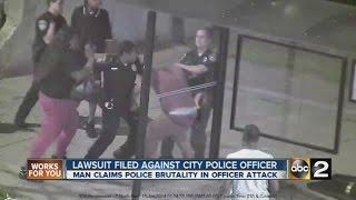 Lawsuit filed against Baltimore police officer alleges assault