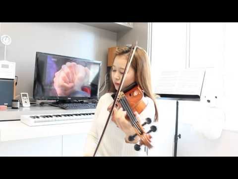 Nakashima Mica  Snow Flower violin solo