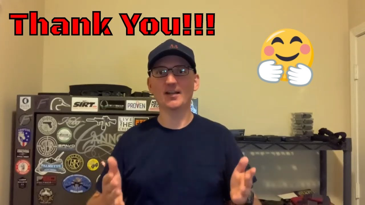 1,000 Subscribers - Thank You!!!