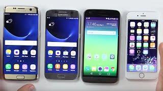 LG G5, Galaxy S7, S7 Edge, iPhone 6S - Hangisi Daha Hızlı?