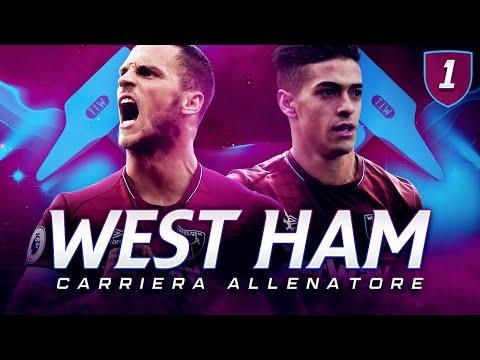 SI COMINCIA!! PRONTI 70 MILIONI PER IL CALCIOMERCATO!!  CARRIERA ALLENATORE WEST HAM ⚒ EP.1 FIFA19