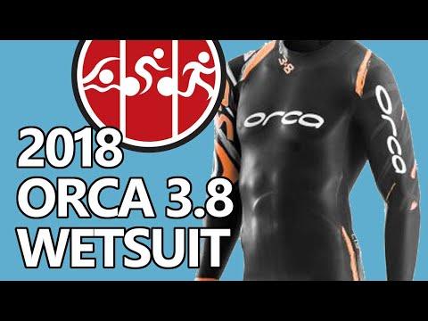 Orca 3.8 Triathlon Wetsuit (2019) - Maximum Buoyancy, Better Flexibility