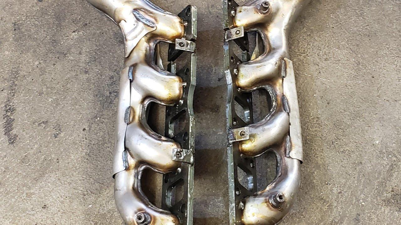 titan cracked exhaust manifolds not so fun
