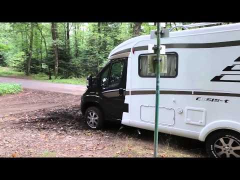 Vidéo camping-car Hymer Exsis t 414 Crossover