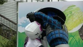 2015/11/7 埼玉県川口市で行われた、手裏剣戦隊ニンニンジャーショーの...