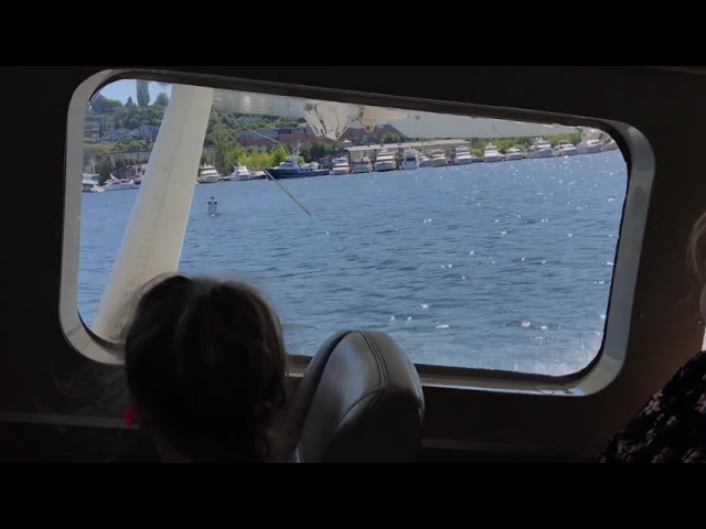 Float Plane from Seattle to Victoria British Columbia Canada