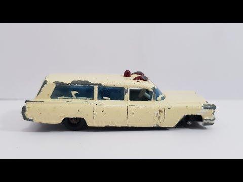 MATCHBOX Restoration No 54b S & S Cadillac Ambulance 1965