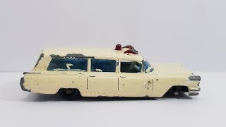 MATCHBOX Restoration No 54b S & S Cadillac Ambulance 1965