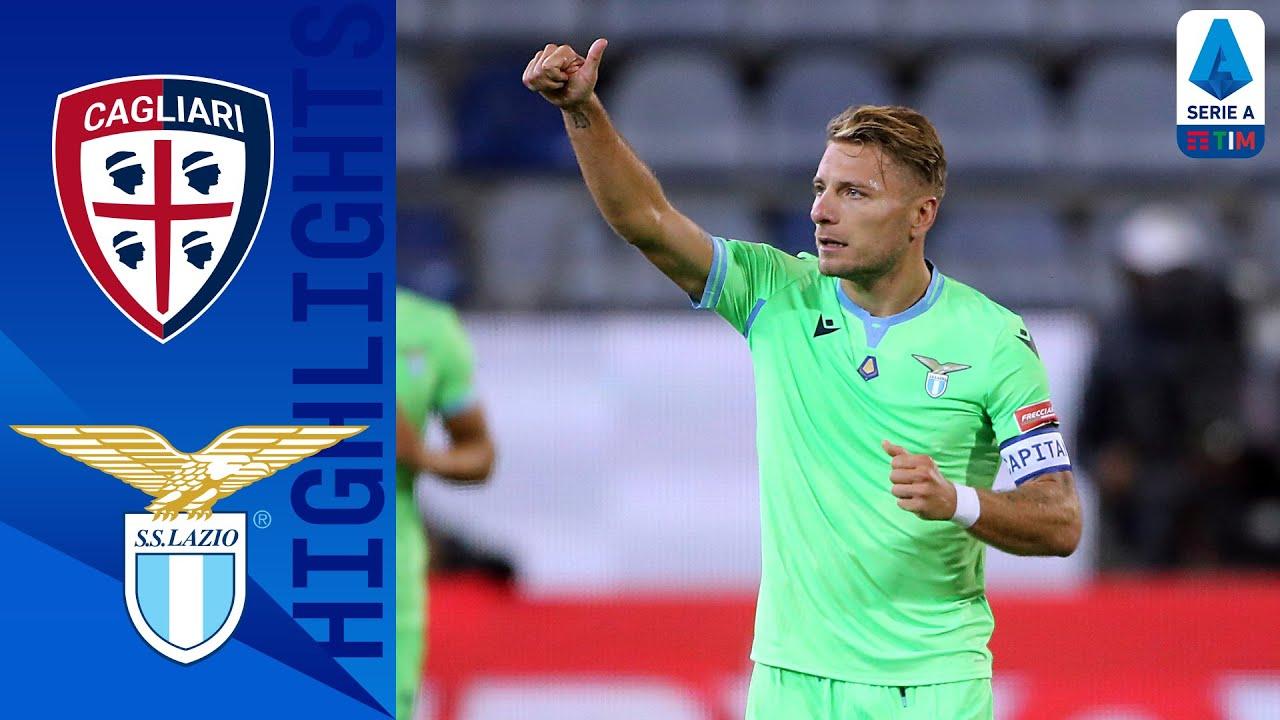 Cagliari 0-2 Lazio | Lazzari & Immobile Score to secure first Win | Serie A TIM