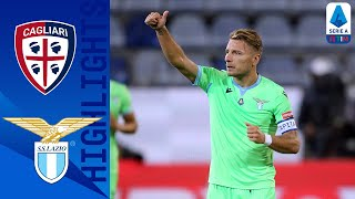 Cagliari 0 2 Lazio | Lazzari & Immobile Score To Secure First Win | Serie A Tim