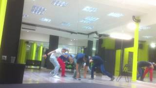 Claydee rehearsals for Mamacita Buena
