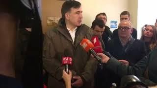 Саакашвили заявил, что на новогодние и рождественские праздники маршей его сторонников не будет